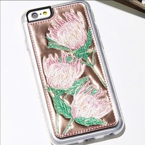 FREE PEOPLE Wild West Rose Gold iPhone CASE 6 6s 7